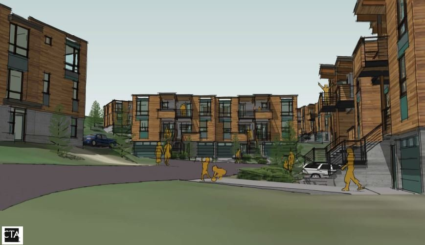 Big Sky Affordable Housing architectural rendering