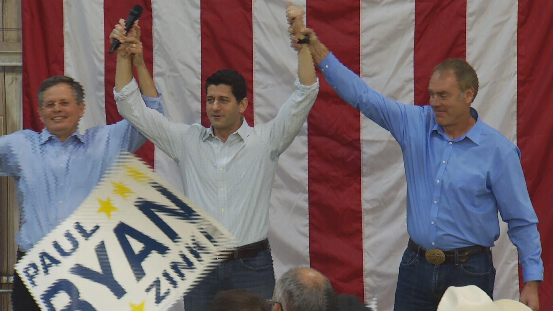 Paul Ryan Says He's Already Cast His Ballot For Trump