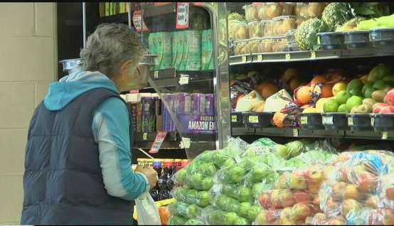 A food desert is any urban area one mile from a grocery store, or a rural area 10 miles away. (MTN News photo)