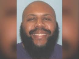 An undated mugshot shows suspect Steve Stephens, who is wanted by Cleveland police.  CLEVELAND POLICE DEPARTMENT