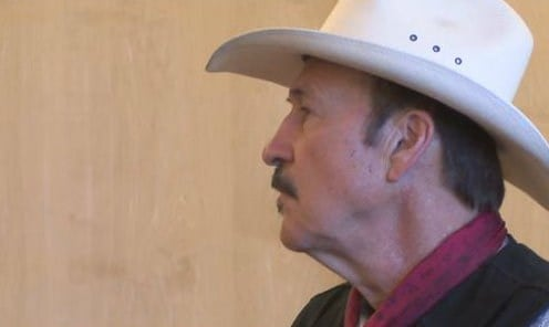 Democratic Candidate for U.S. House Rob Quist held a meeting at the Bozeman library to discuss Social Security and Medicare. (MTN News photo)