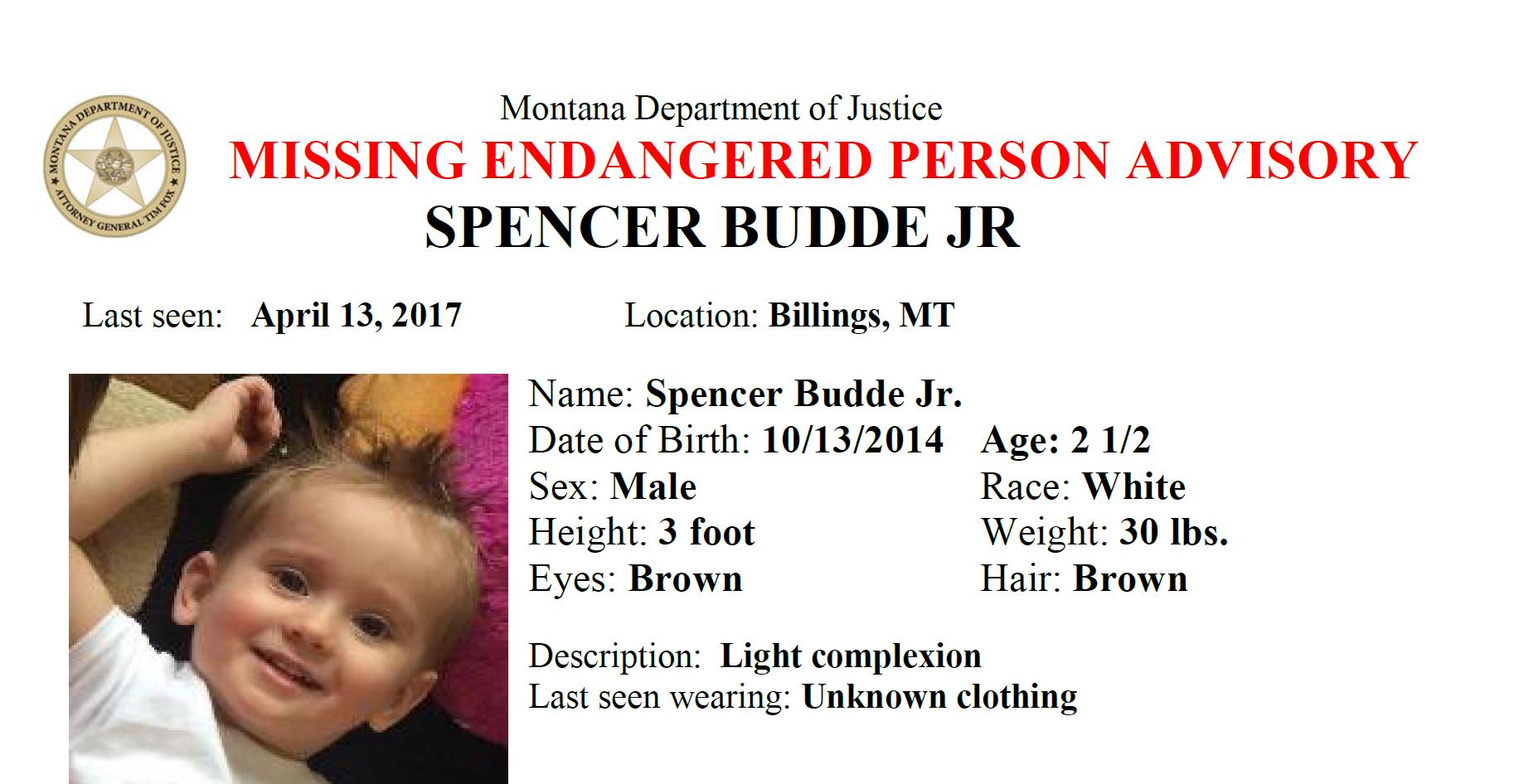 Spencer Budde, Jr.