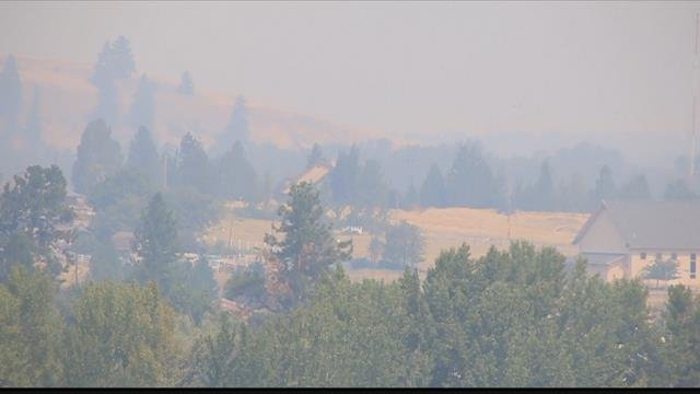 Western Montana is in the cross hairs for fire smoke which has has been part of late summer life here for generations. (MTN News photo)