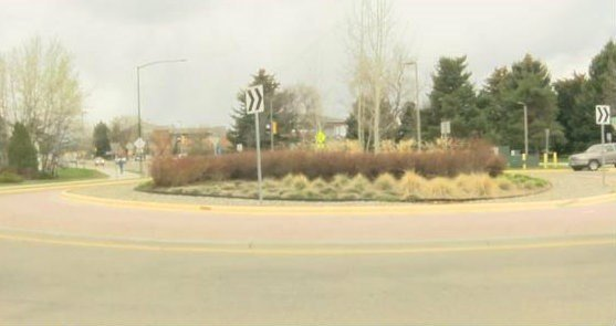 Roundabouts are more expensive to install than traditional traffic sign or lights but they do save money for drivers who don't have to stop and start. (MTN News photo)