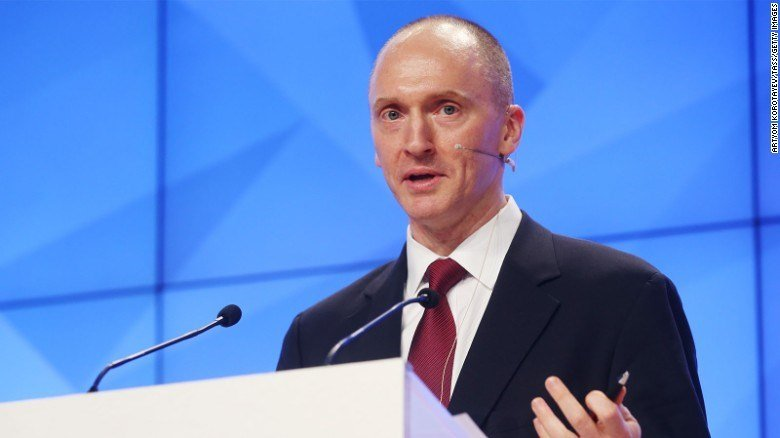 Carter Page, Global Energy Capital LLC Managing Partner and a former foreign policy adviser to Donald Trump (CNN photo)