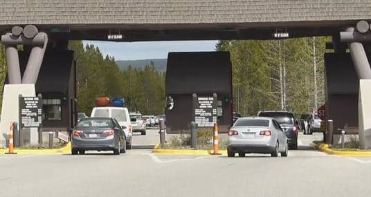 Yellowstone National Park is open for summer tourism (MTN News photo)