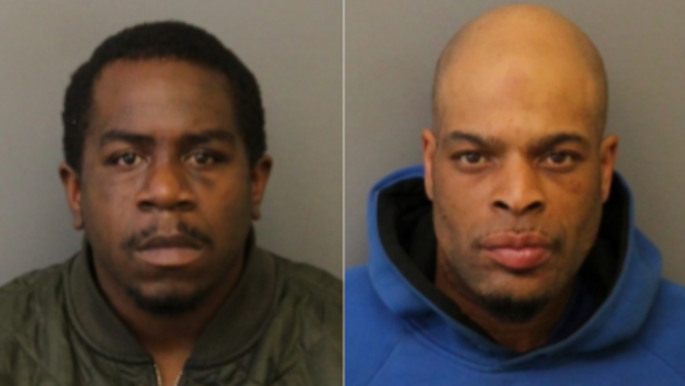 Authorities say two men have been arrested in Newark after a batch of the drug K2 left dozens of people ill there in recent days. (Credit: Newark Dept. of Public Safety)