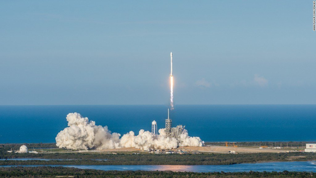 SpaceX Set For First Military Mission Launch