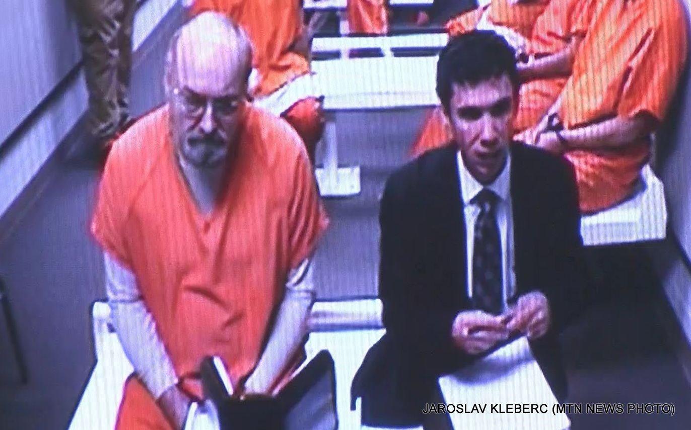 Jaroslav Kleberc in court on May 18, 2017