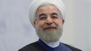 Iranian President Hassan Rouhani (CNN photo)