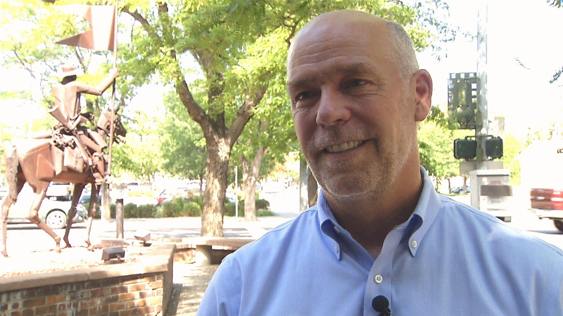 Republican Montana congressional candidate Greg Gianforte. (MTN News photo)