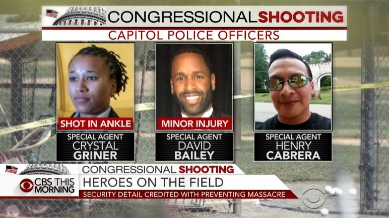 Congressmen Credit Capitol Police for Preventing 'Massacre'