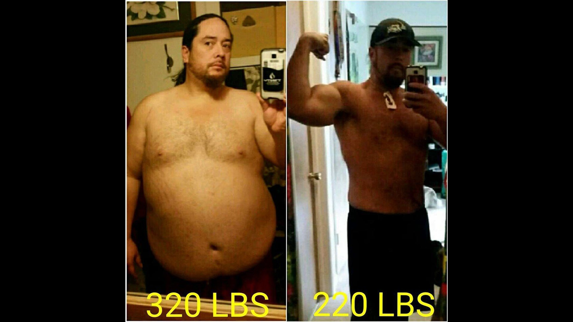 Rafaele lost more than 100 pounds in less than a year (Facebook photo)