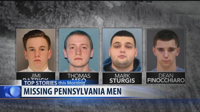Human Remains Found In Search For 4 Missing Men