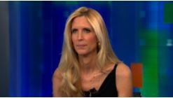 Coulter went off on the airline in a tweetstorm starting Saturday when she was moved from a seat she had pre-booked.