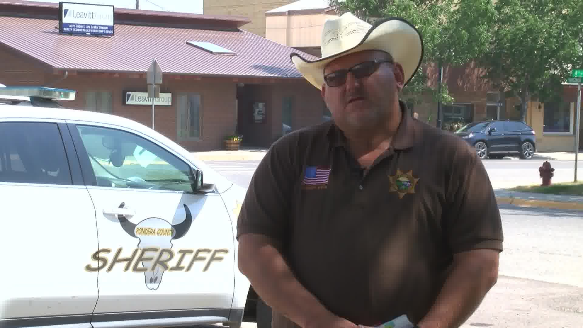 Pondera County Sheriff Carl Suta. (MTN News photo)