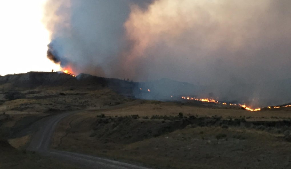 Major Progress Made On Containing Lodgepole Complex Fire