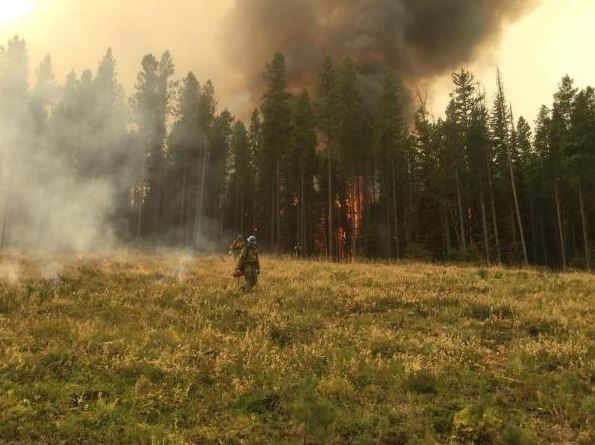 The Sapphire Complex fire is burning in the Rock Creek drainage southeast of Missoula. (inciweb.org photo)