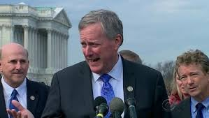 Rep. Mark Meadows, R-North Carolina.  CBS EVENING NEWS
