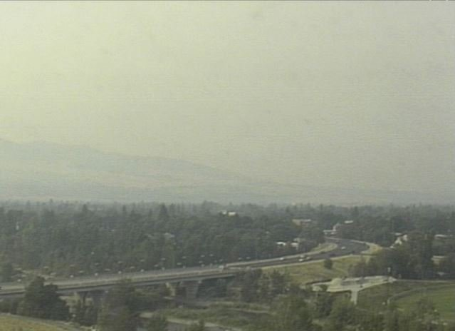 The view from the KPAX - St. Patrick Hosptial Eyecam as of Saturday morning.