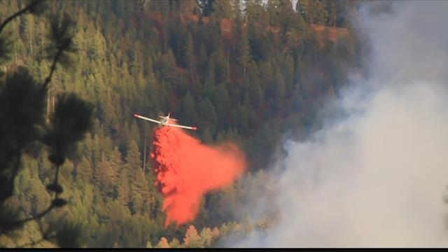 During fire season in Montana, water and retardant drops become a critical part of fire operations. (MTN News photo)