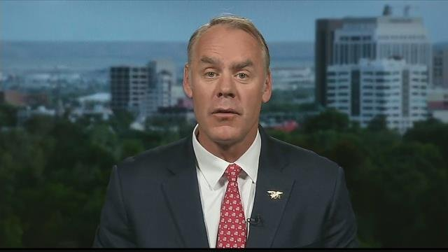 U.S. Department of the Interior Ryan Zinke (MTN News photo)