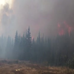 Crucifixion Creek Fire (Photo via Inciweb)