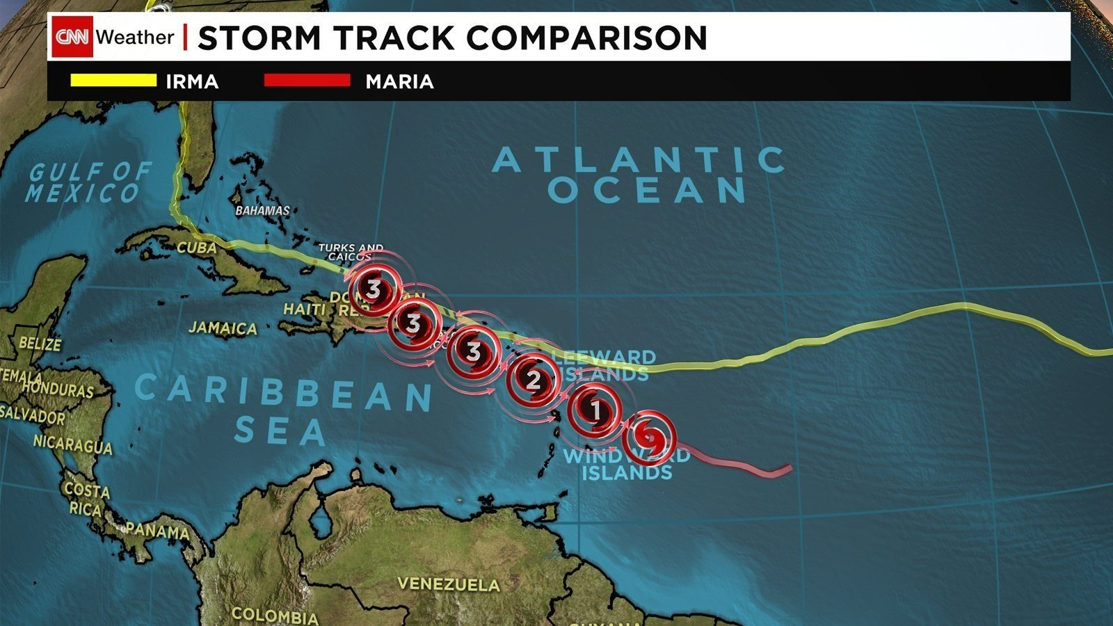 Hurricane Maria is forecast to rapidly strengthen over the next two days as it takes aim at Caribbean islands devastated by Hurricane Irma just days ago. (CNN)