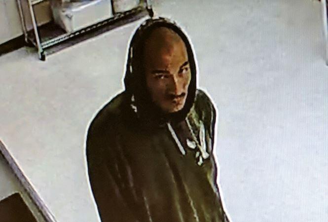 Meals on Wheels burglary suspect caught on surveillance video