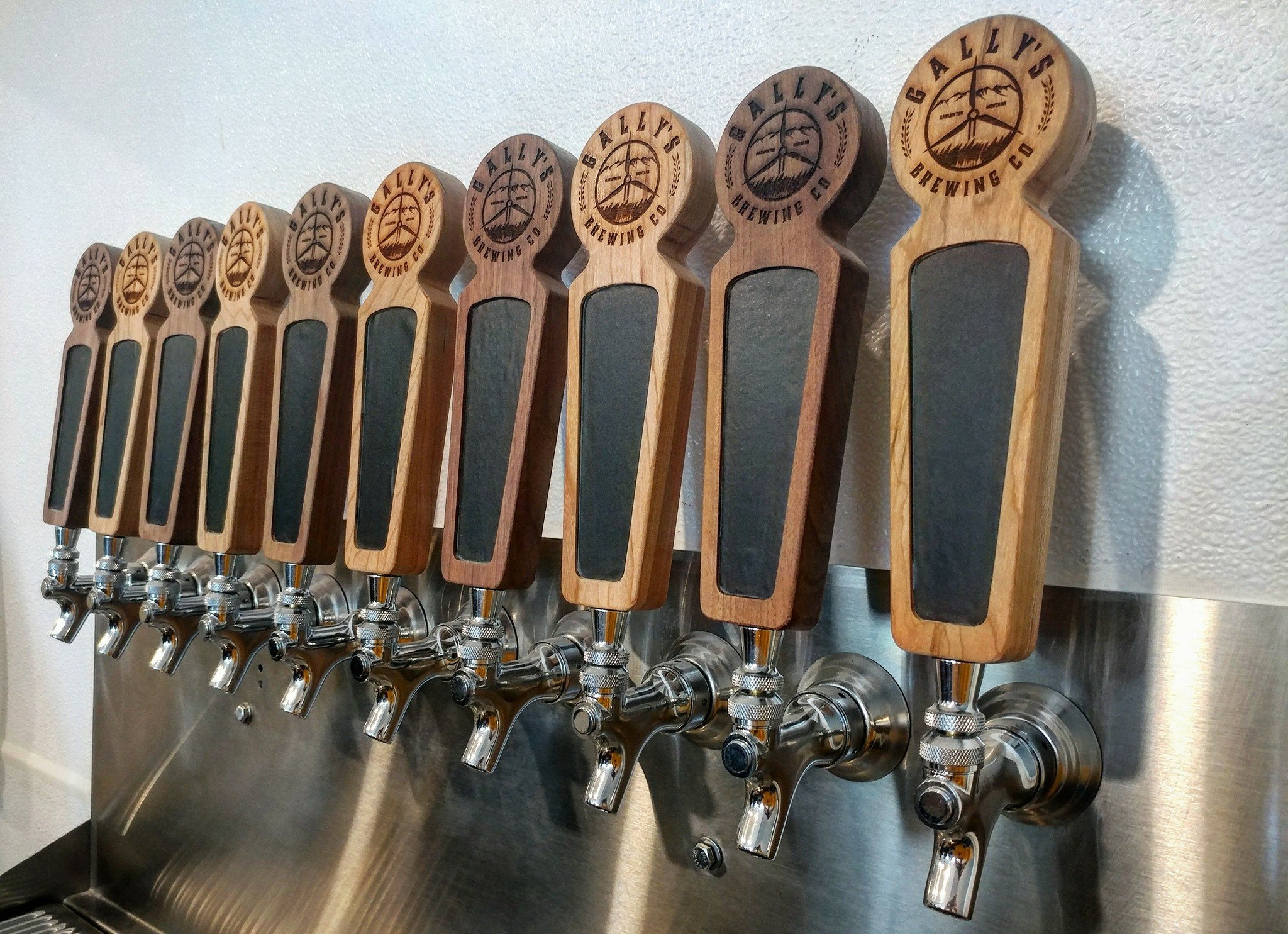 Gally's Brewing will offer 10 taps when it opens in Harlowton in December. photo courtesy of Gally's.