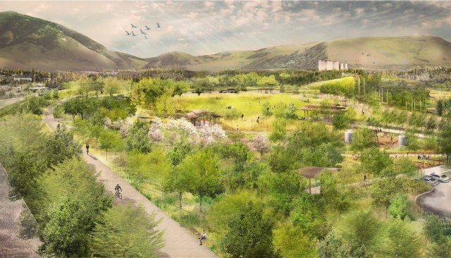Overview from Bridger Drive (The Trust for Public Land)