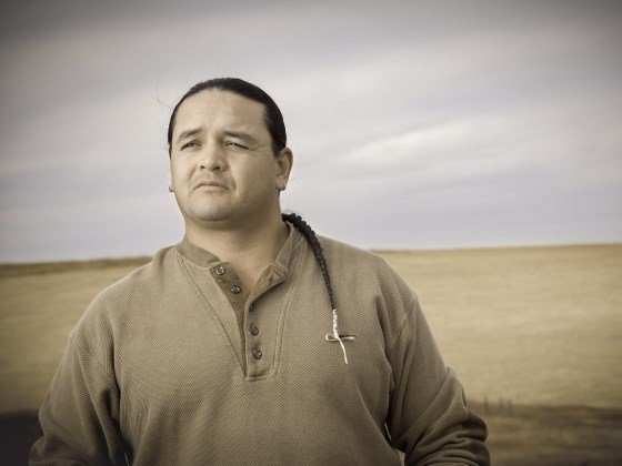 Jason Baldes is an MSU graduate who came to the university knowing he wanted to study the science necessary to help return wild buffalo to Wyoming's Wind River Reservation. MSU photo by Kelly Gorham