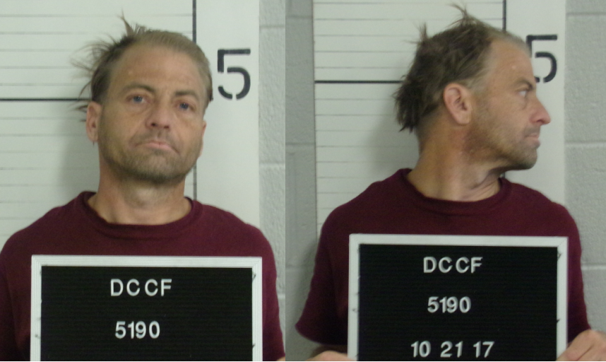 Todd Fisher (Dawson County jail booking photo)