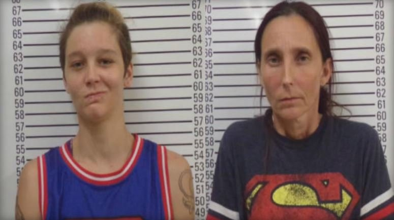 Misty Velvet Dawn Spann, 25 (L) and Patricia Spann, 42 (R) (KOTV)