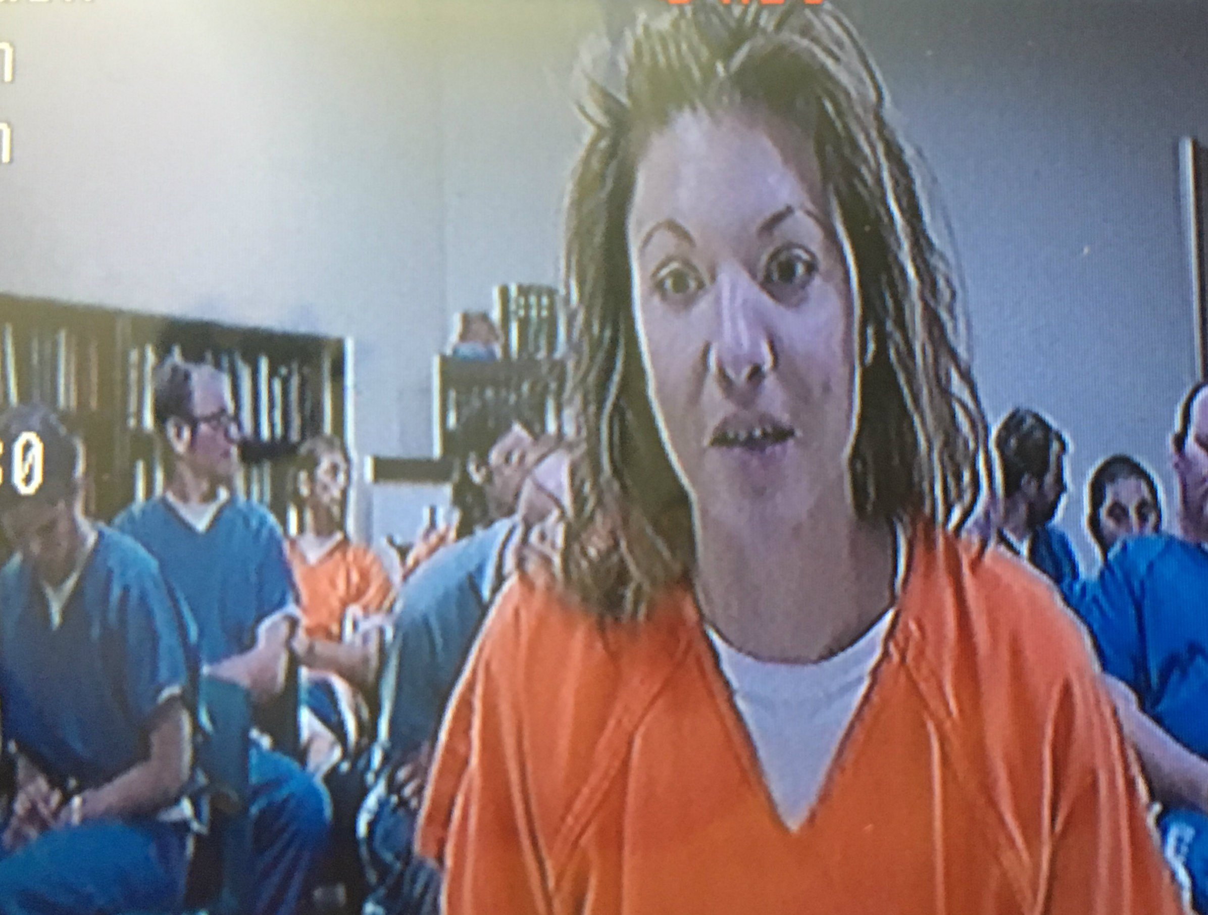 Amber M. Coleman appears in Gallatin County Justice Court on Nov. 13, 2017 (MTN News photo)