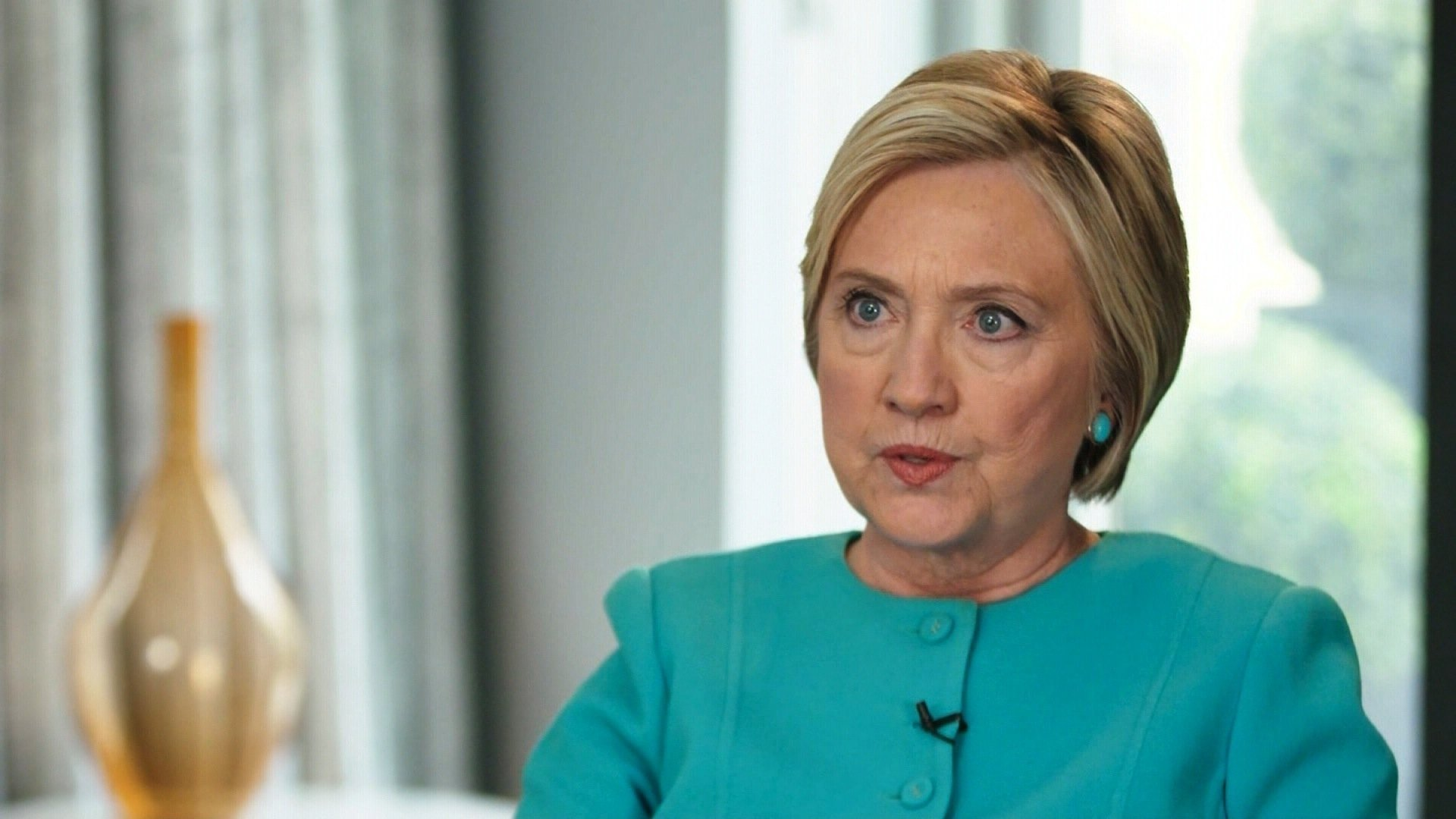 Clinton released a statement condemning major Democratic donor Harvey Weinstein. photo courtesy of CNN.