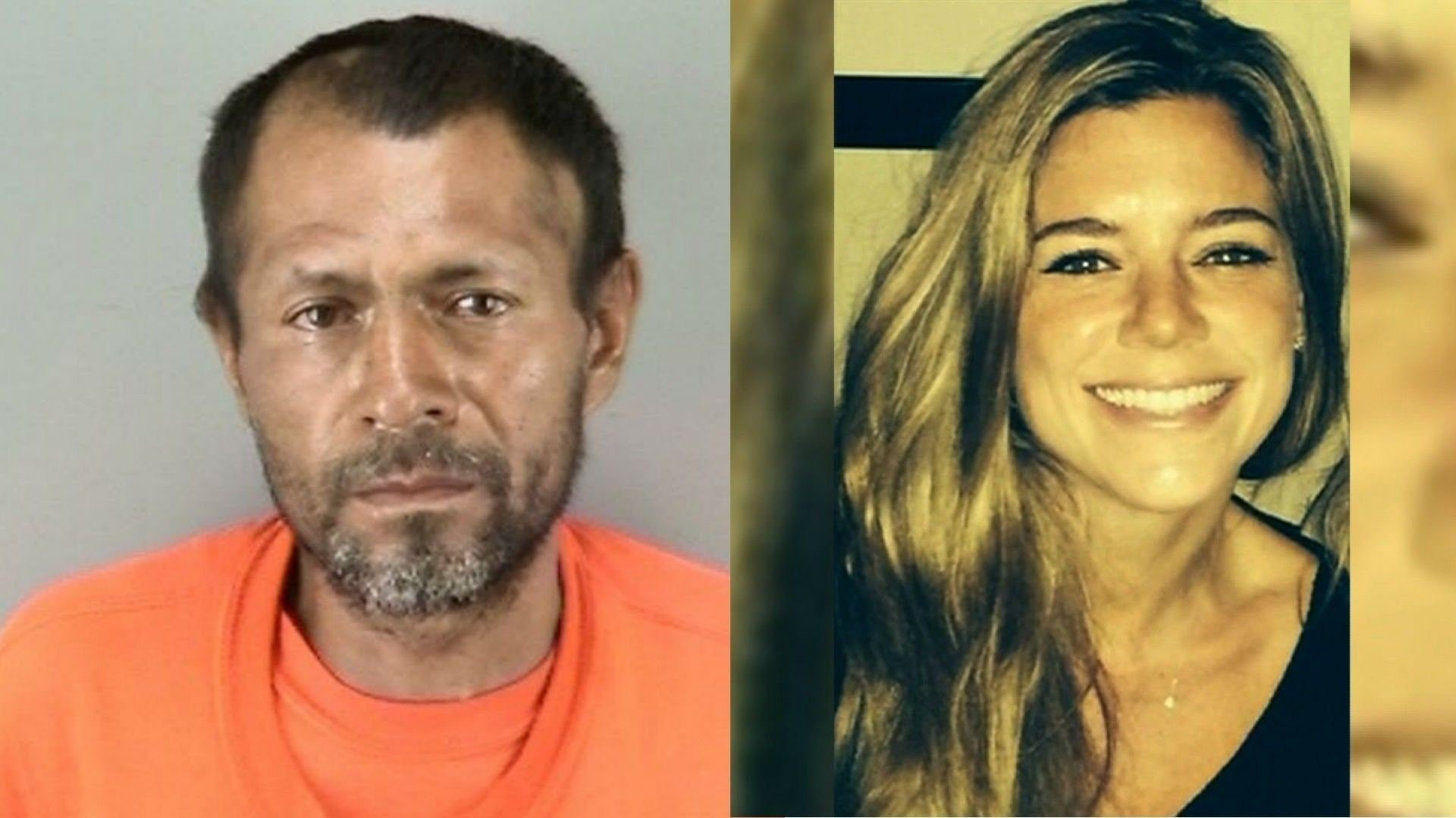 Kate Steinle (left), 32, was killed in July 2015. Jose Ines Garcia Zarate (right) was deported from the US fives times before the shooting, authorities say.