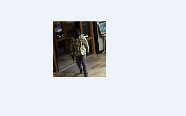 Billings police are seeking information on this suspect in a Nov. 18 robbery. courtesy of Billings police.