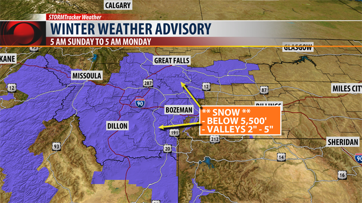 Winter Weather Advisory issued for parts of northwestern Colorado