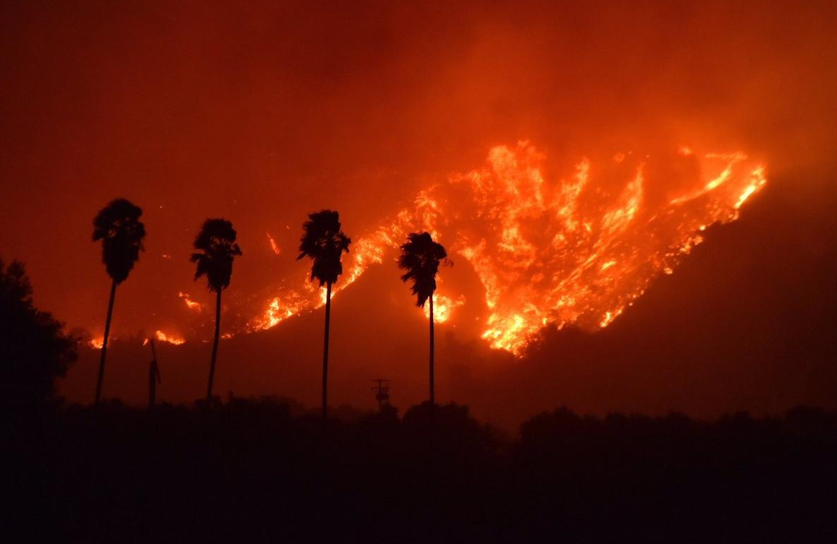 Massive California fires have burned over 200 structures (CNN Photo)