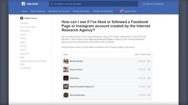 Russian-linked Facebook content: How to check if you were duped