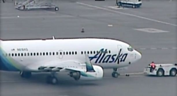 A rat scurried onto an Alaska Airlines flight from a jetway at Oakland International Airport Tuesday, airline officials said. / CBS SF BAY AREA