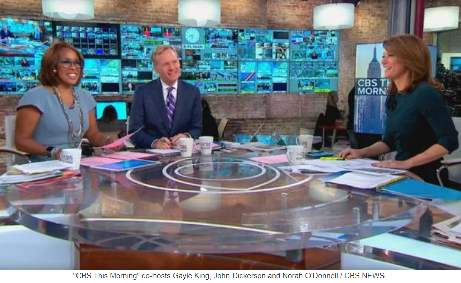 TV newsman John Dickerson to replace Charlie Rose on 'CBS This Morning'