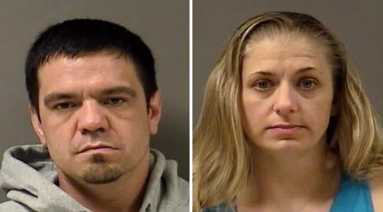 Raymond (left) and Crystal (right) Tetzlaff were sentenced to prison (YCDF)