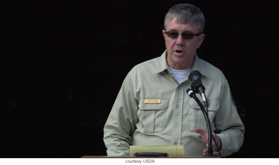 Forest Service chief steps down amid sexual misconduct investigation