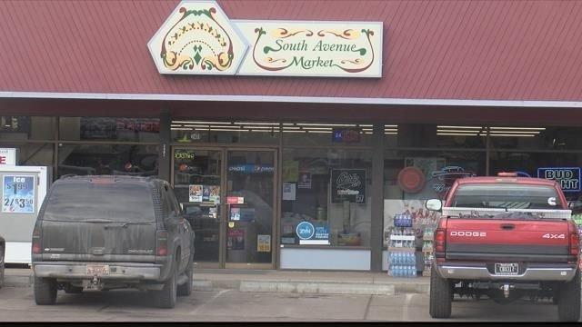 The shooting happened at the South Avenue Market at the corner of South and Higgins avenues in Missoula. (MTN News photo)