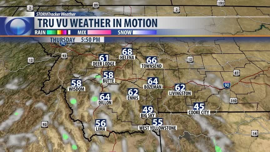 Weather Authority: Saturday morning forecast