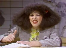 "Gilda Radner as Roseanne Roseannadanna on ""Saturday Night Live."" / CBS NEWS"