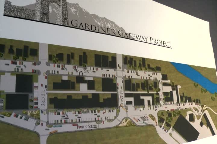 Improvements include wider sidewalks to make it safer for pedestrians, a new parking setup, public restrooms and a welcome center (MTN news photo)