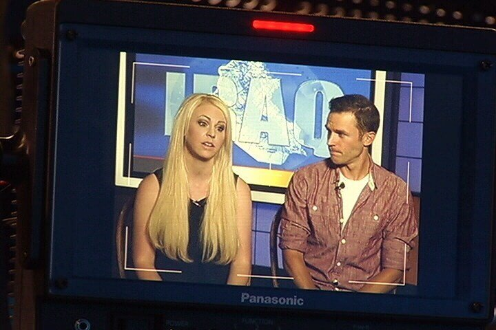 Britney Higgs and Ryan Mix will go to Iraq to interview victims (MTN News photo)